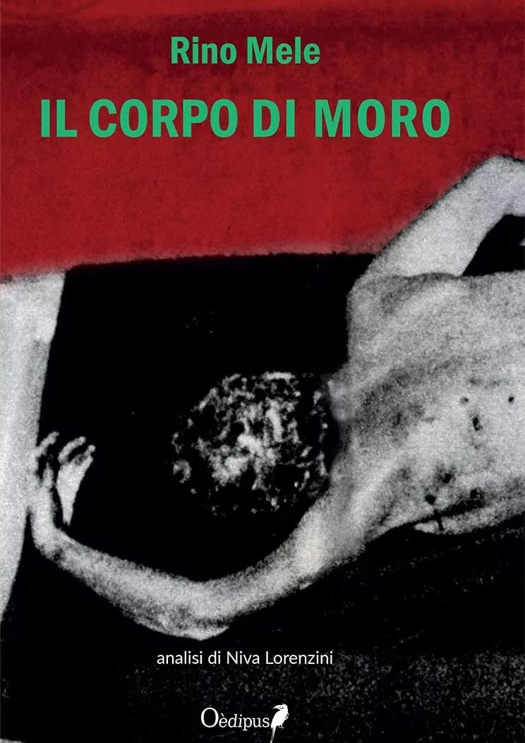 La copertina del poemetto di Rino Mele Il corpo di Moro.