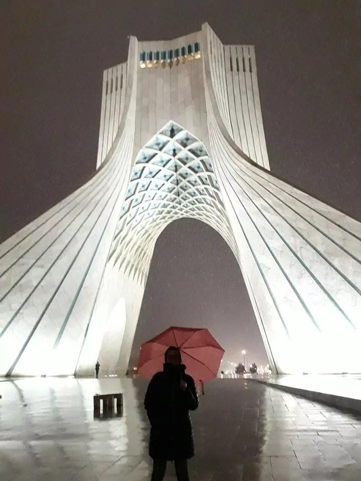 La Azadi Tower, la Torre della Libertà di Teheran (ph. Patrizia Russo / In24).