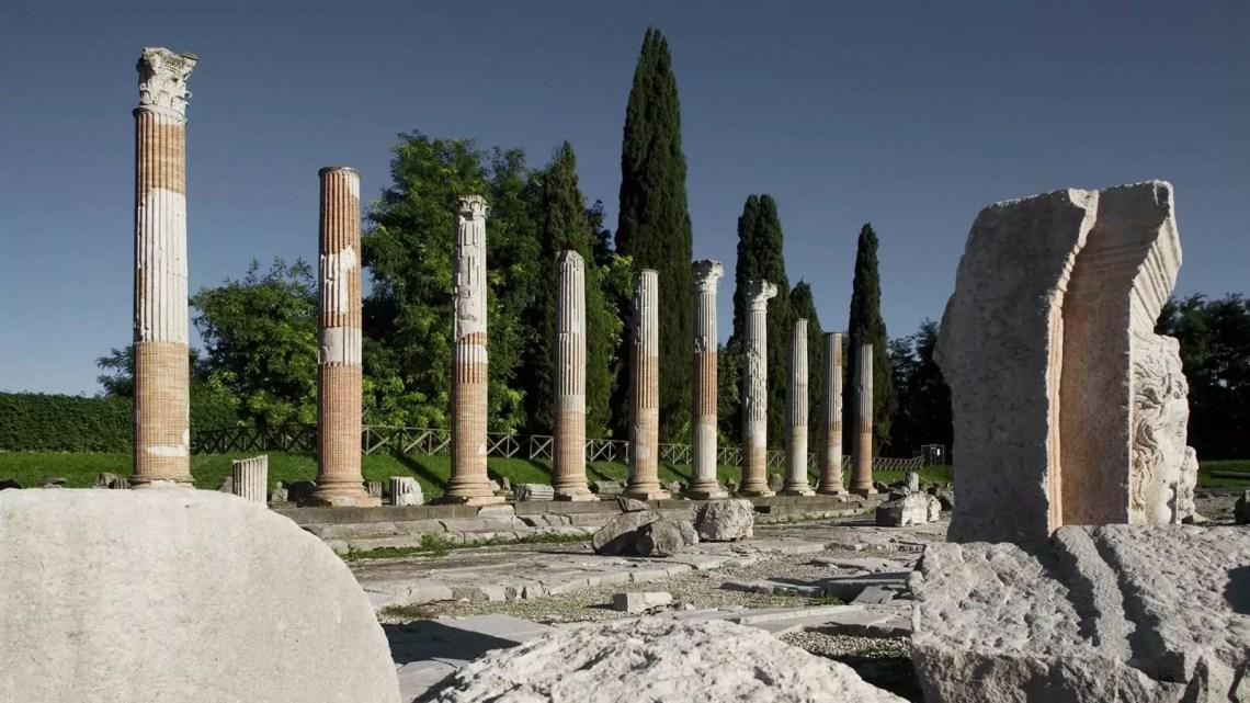 Il Foro romano di Aquileia (ph. Matteo Lavazza Seranto).