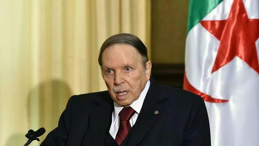 Algeria, il presidente ultraottantenne AbdelAziz Bouteflika, bersaglio delle proteste di questi giorni ad Algeri (ph. Al Araby).