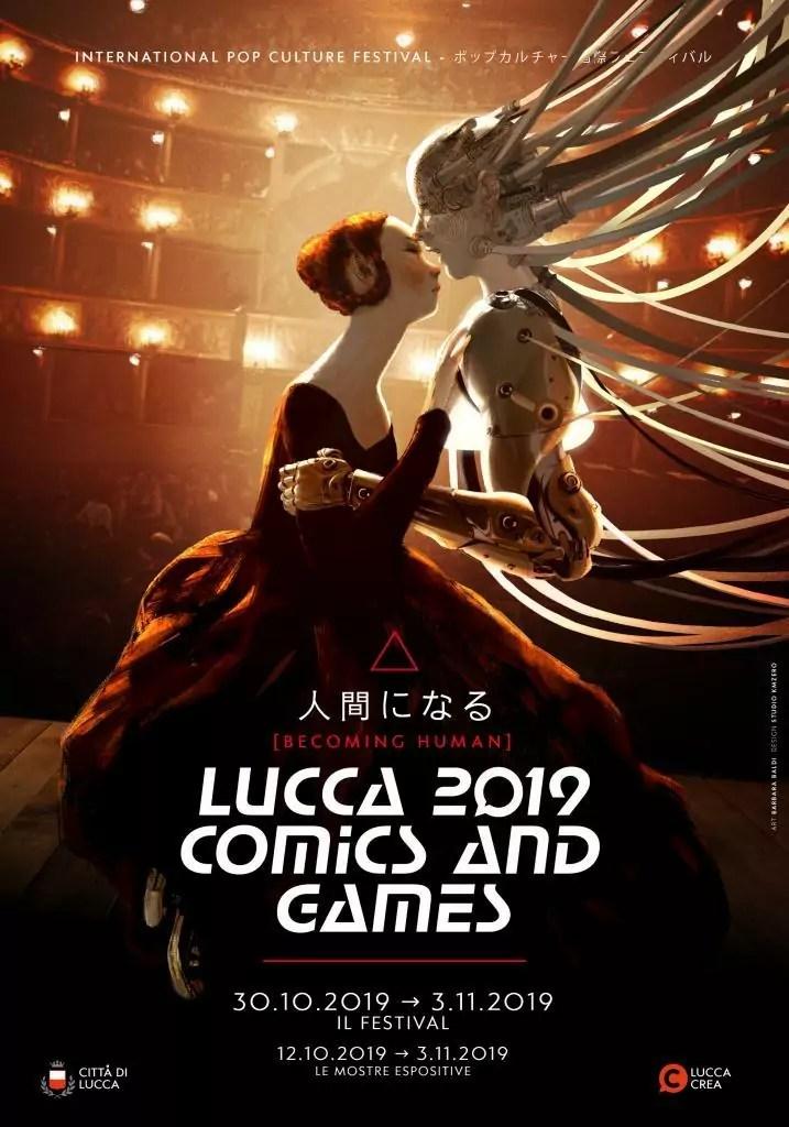 Lucca Comics and Games, il manifesto dell'edizione 2019.