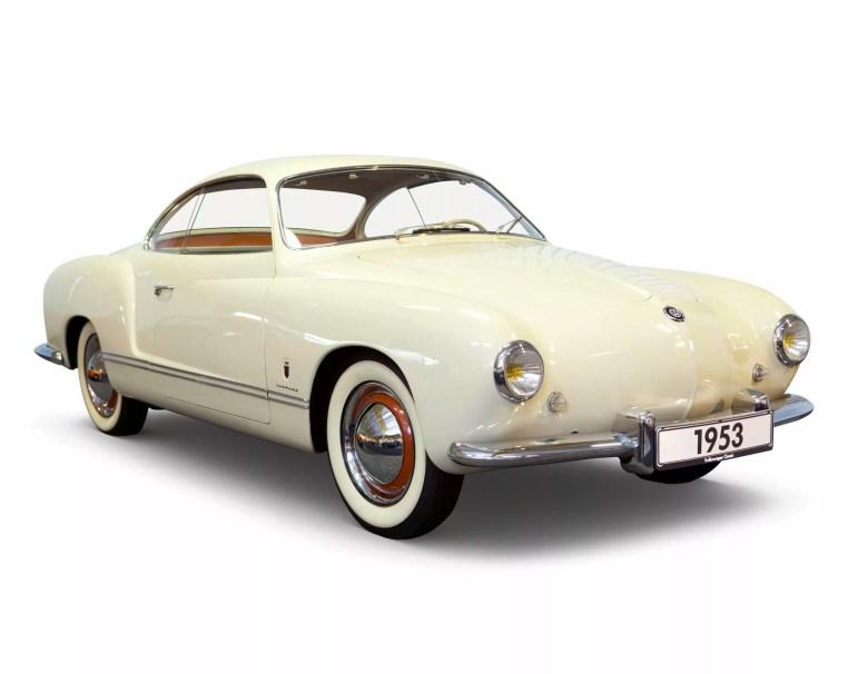 La Karmann Ghia Type 14 disegnata da Luigi Segre (Carrozzeria Ghia) su incarico di Wilhelm Karmann.