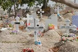 Senegal, il cimitero cristiano-mussulmano a Fadiouth (Ph. P.Russo/IT24).