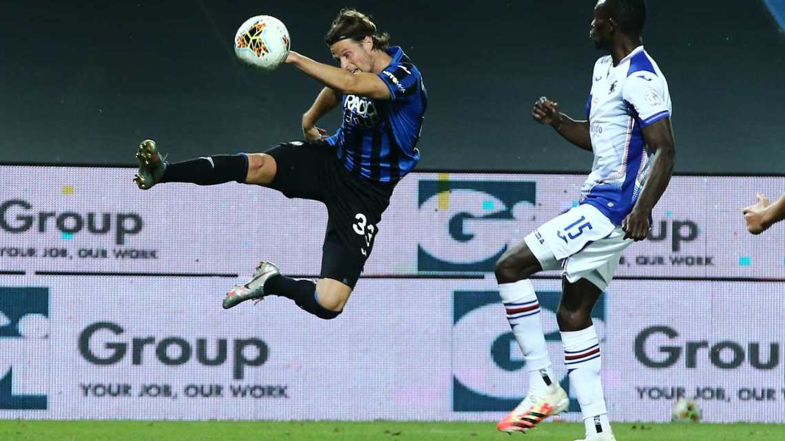 Atalanta Sampdoria alla 31esima di campionato del 0 luglio 2020.