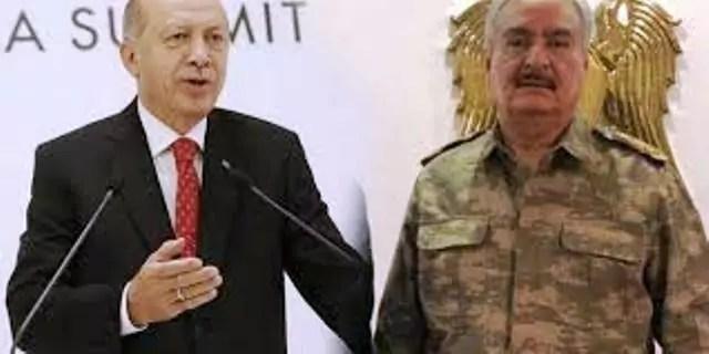 haftar erdogan italia mediterraneo dignità