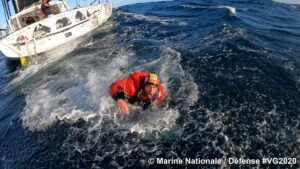 Kevin Escoffier - © Marina nazionale / Difesa