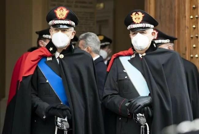 avvicendamento comandante carabinieri governo