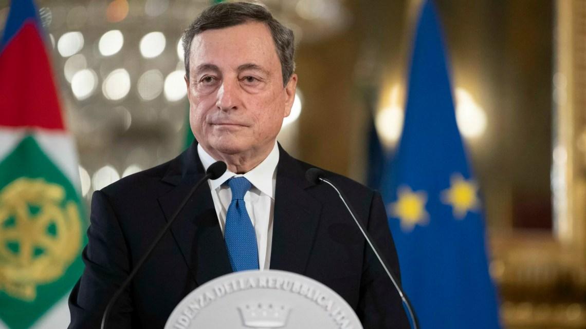 Dichiarazione del Prof Mario Draghi al termine del colloqui con il Presidente Sergio Mattarella,al Quirinale
