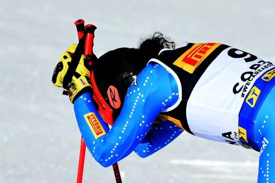 Cortina 2021 Mondiali di sci alpino. Cortina d'Ampezzo 11/02/2021 Federica Brignone (ITA) Foto: Pier Marco Tacca / Pentaphoto   © Copyright / 21