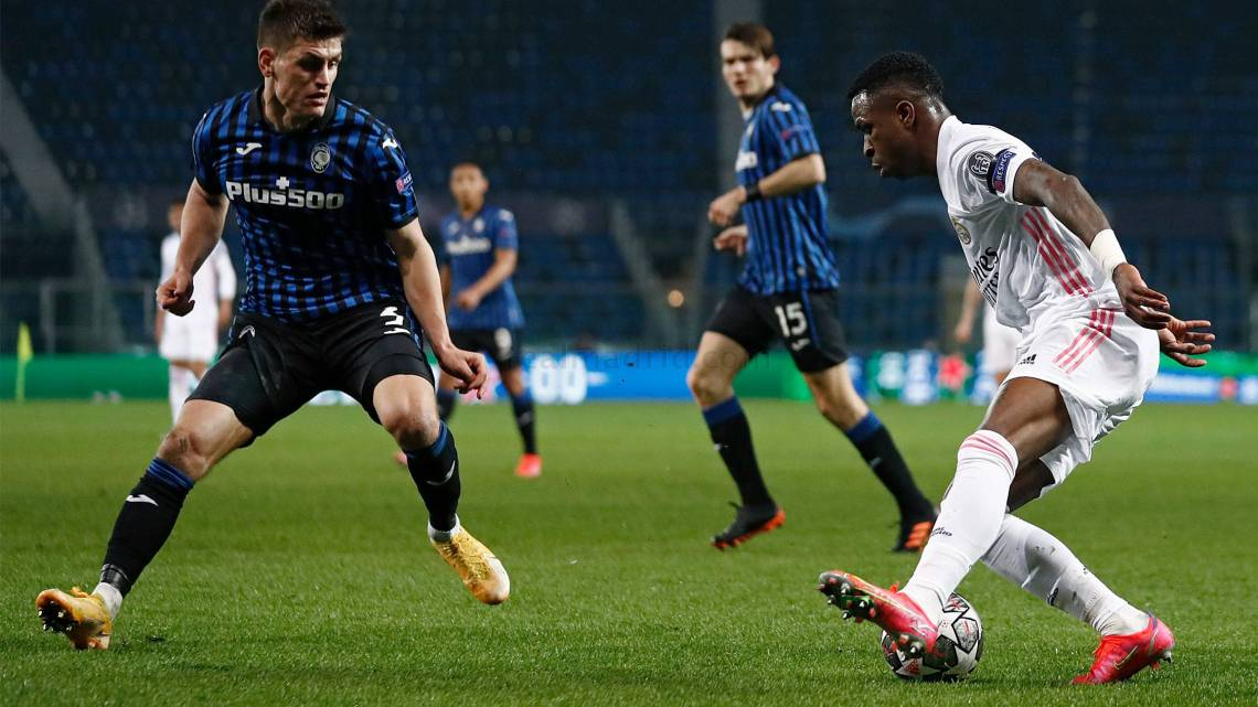 Champions League: Atalanta - Real Madrid: Mendy in extremis regala la vittoria ai Blancos (credit Real Madrid Official Website Photo Gallery)