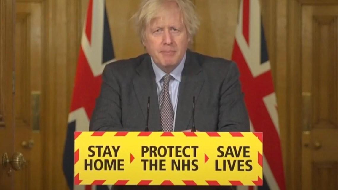 Covid-19 Il premier Boris Johnson annuncia in tv le 4 tappe per uscire dal lockdown.