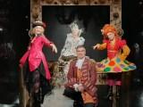 Una scena dalla diretta streaming del Carnevale di Venezia 2021