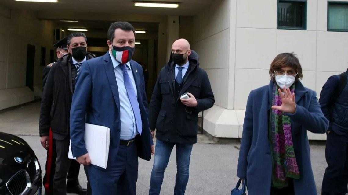 Salvini Palermo Open Arms Italpress