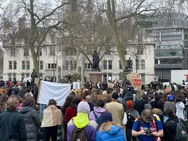 Londra, la protesta Kill the Bill (Photo copyright Rebecca Faioni / IN24).