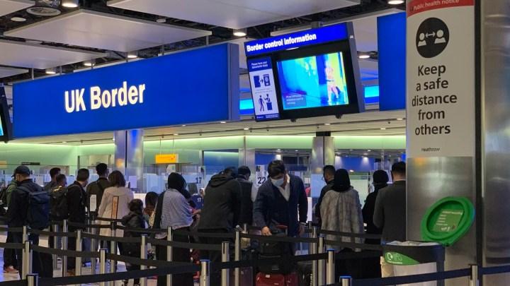Regno Unito Londra aeroporto di Heathrow
