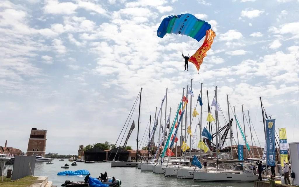 Salone nautico di Venezia 2021, inaugurazione.