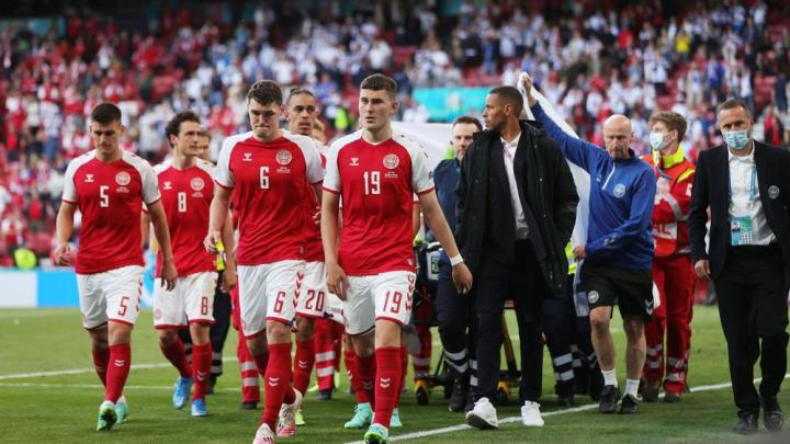 Eriksen sviene in campo durante Danimarca-Finlandia. Dramma in campo: si teme l'arresto per cardiaco. (credit Bein Sports Official Website)