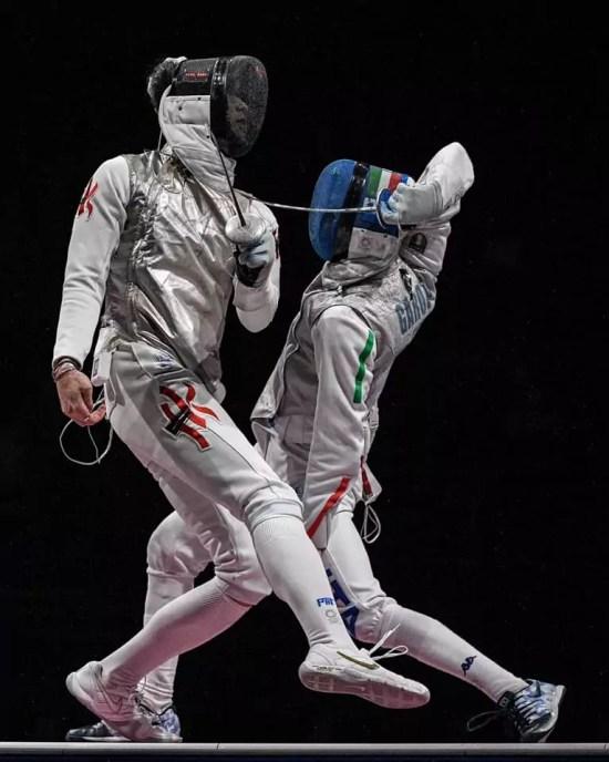 Olimpiadi scherma, la finale Garozzo-Cheung