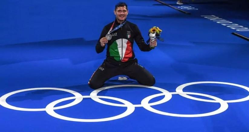 Olimpiadi Tokyo 2020: l'argento di Aldo Montano nella prova a squadre