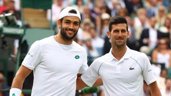 Djokovic e Berrettini