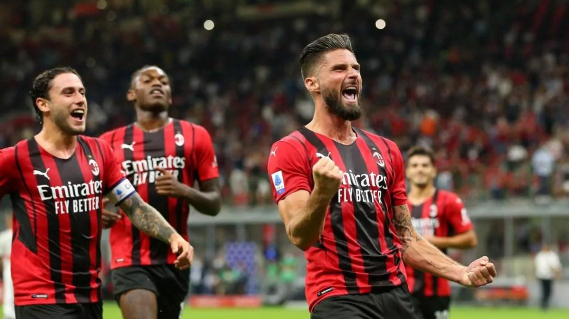 Milan-Cagliari: rossoneri straripanti a San Siro, 4-1 contro il Cagliari. A segno, Tonali, Leao e due volte Giroud.