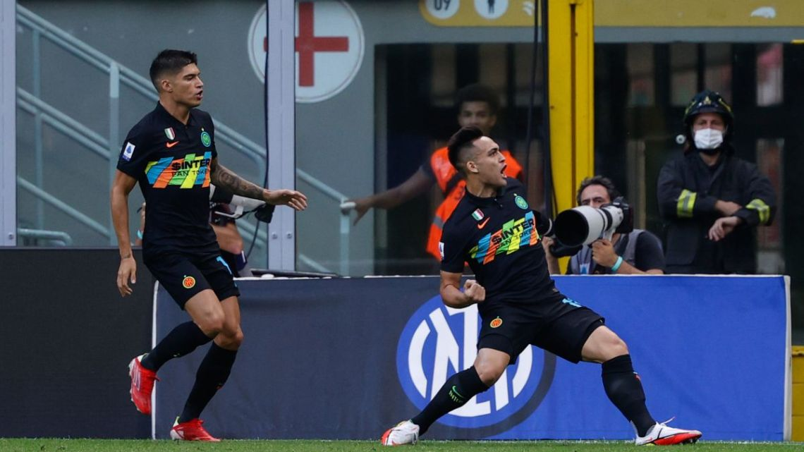 Inter-Bologna, 6-1: nerazzurri devastanti a San Siro, Bologna senza chance. Sblocca Lautaro, poi Skriniar, Barella, Vicino e doppietta di Dzeko; per il Bologna, segna Theate all'ultimo.