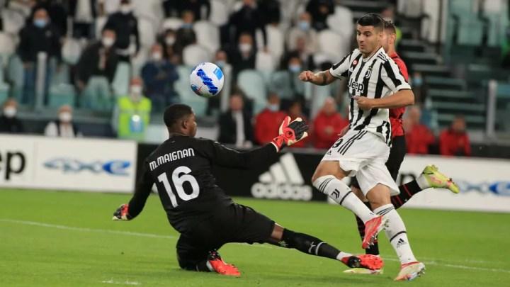 Juventus-Milan: si ferma ancora la Juventus, questa volta per merito di un ottimo Milan. All'Allianz, apre Morata nei primi istanti di gioco; a lui risponde Rebic, 1-1.