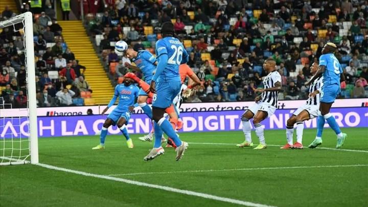 Udinese-Napoli: partenopei facili nel Monday Night di Udine. Apre Osimhen, poi Rrahmani e Koulibaly. Negli ultimi minuti, chiude Lozano. ( photo credit SSC Napoli Official Website)