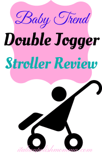 Baby Trend Double Jogger Stroller Review