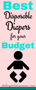 Best disposable diapers for your budget