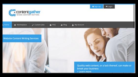 Freelance writing jobs/Contentgather