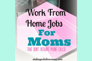 Work From Home Jobs For Mom
