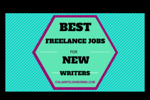 Best Freelance Jobs For New Writers