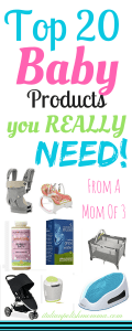 Top Baby Products You really Need!