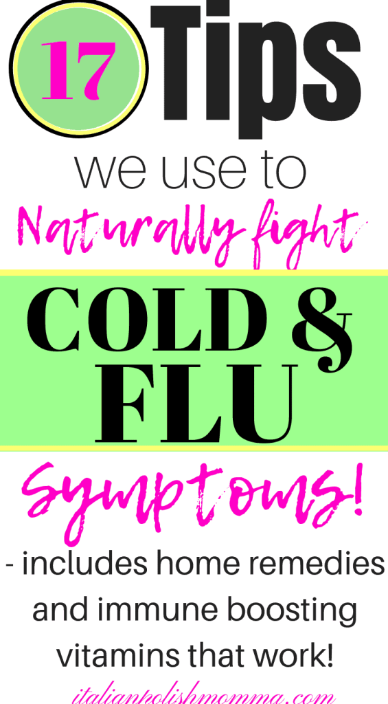 Cold and Flu remedies for kids