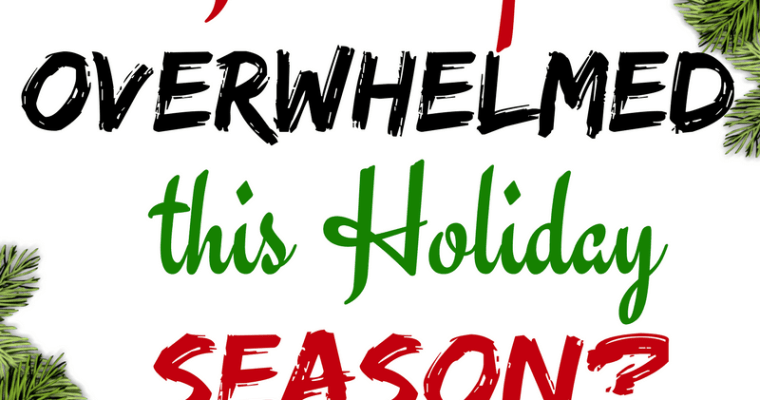 Best Holiday Planner For The Overwhelmed Mom