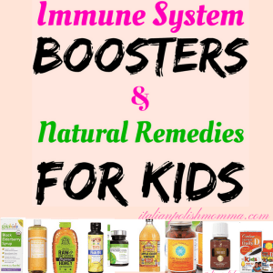 Immune system boosters for kids