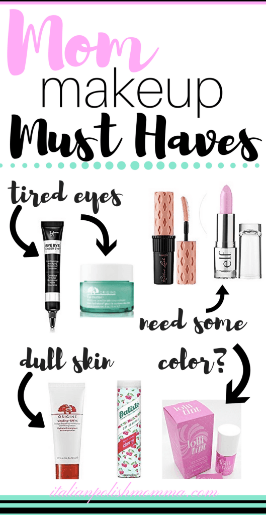 Makeup Must Haves for Moms