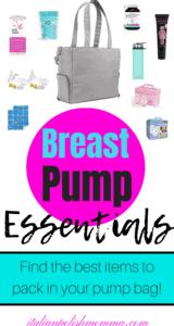 Breast pump essentials