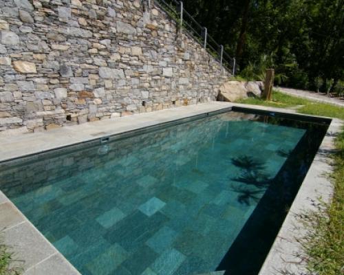 pools and natural stone italian pool