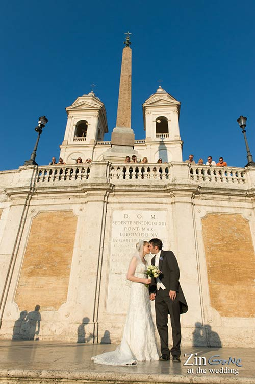 They Decided To Tie The Knot Beautiful City Of Rome Chose Have Their Wedding Ceremony In