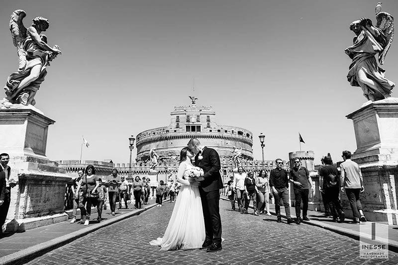 Wedding photo tour in Rome