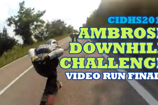 ambrose downhill challenge video