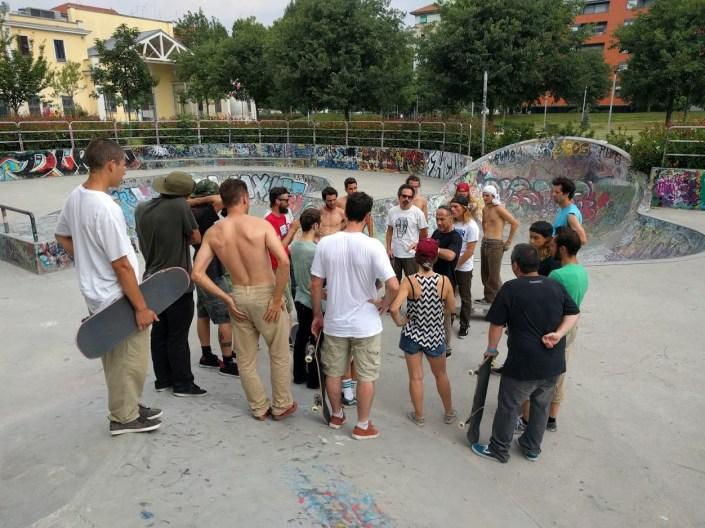 corso maestri skateboard fisr