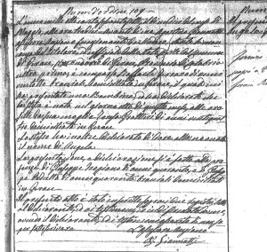 Angela Ferraro Birth ACt 1866