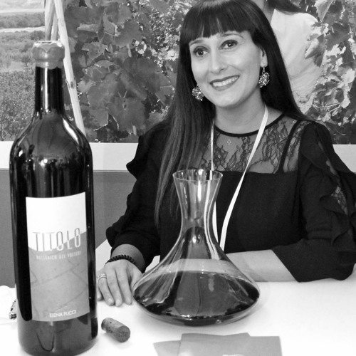 Elena Fucci, owner of Elena Fucci Winery