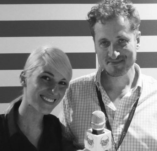 Debora Bosoni (Cantine LVNAE) with Monty Waldin