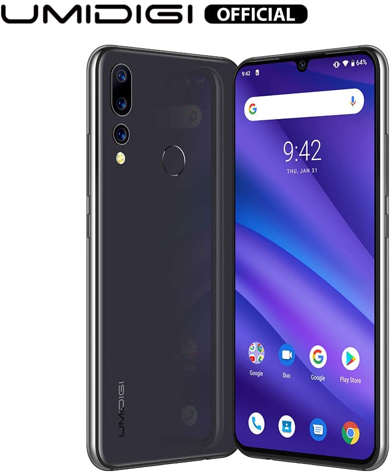 🔥 Offerta Del Giorno 🔥 Smartphone UMIDIGI A5 PRO, Triple Camera(16MP+8MP+5MP), 4GB+32GB(Espandibile 256GB), Batteria 4150mAh, Android 9.0 Pie