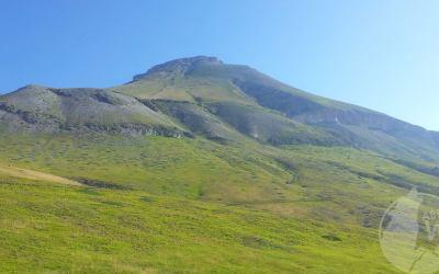 Verso la Cima del Monte Camicia