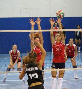 volley Viaccia a muro - ariete prato volley